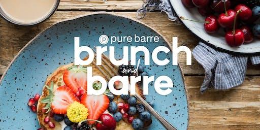 """Pure Barre Potomac Falls """"Barre + Brunch"""""""