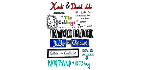 Xadi & Daniel Adé, Kwoli Black and Jude the Obscure: Live in London tickets