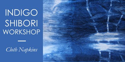 INDIGO SHIBORI | Eco Cloth Napkins
