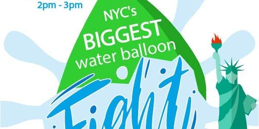 NYC's BIGGEST Water Balloon Fight