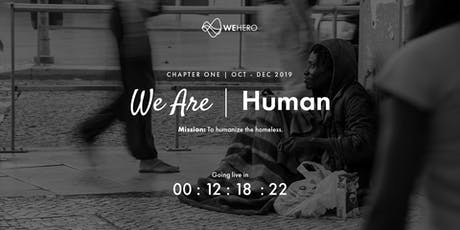 We Are Human -  Launch Dinner tickets
