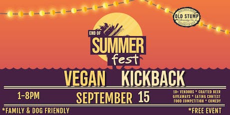 Vegan Kickback tickets
