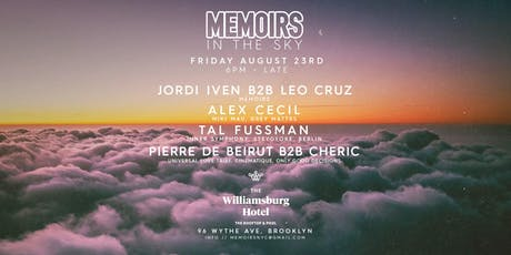 Memoirs In The Sky tickets