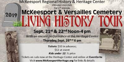 "McKeesport & Versailles Cemetery ""Living History Tour"""