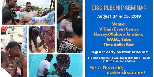 DISCIPLESHIP SEMINAR