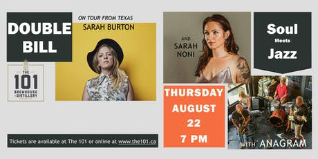 Double Bill: Sarah Burton and Anagram with Sarah Noni tickets