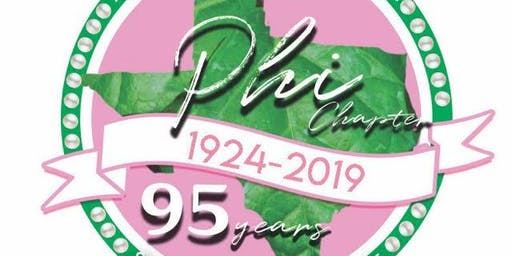 Phi Chapter's 95th Year Celebration