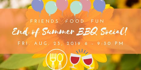 End of Summer BBQ Social! tickets