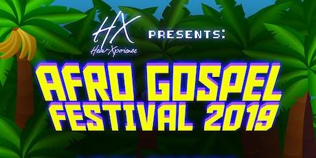 AFRO GOSPEL FESTIVAL 2019 tickets