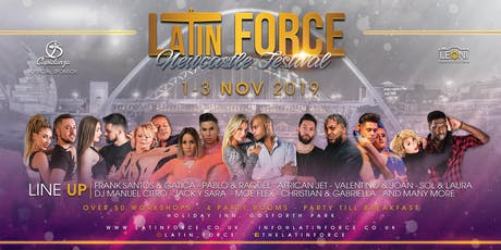 Latin Force Newcastle Festival  tickets