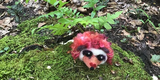 Learn to needle felt a Hedgehog (whimsical or not)