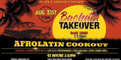 Bachata Takeover at the Afrolatin Cookout tickets