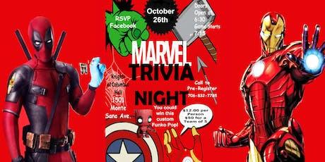 Marvel Trivia Night tickets