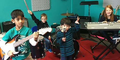 Rookies Music Demo Class for Ages 5-7 tickets