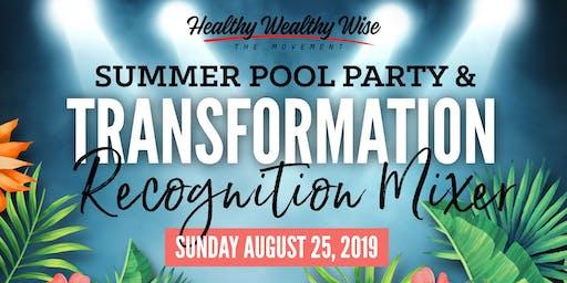 Summer Pool Party & Healthy Transformation Mixer