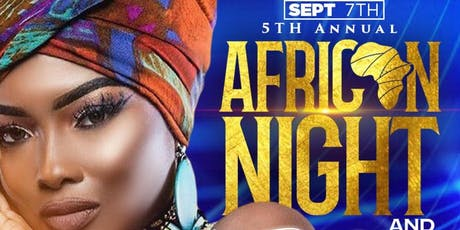 THE 5th Annual AFRICAN NIGHT & RED CARPET AFFAIR tickets