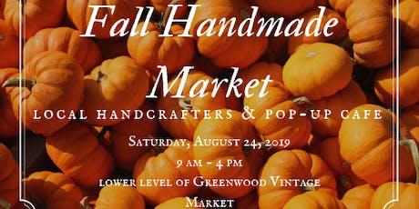 Fall Handmade Market tickets