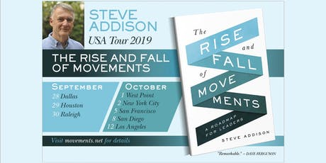 Movements Workshop with Steve Addison - NYC tickets