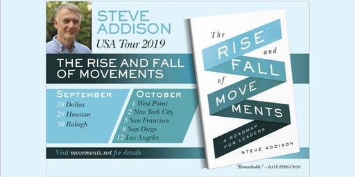 Movements Workshop with Steve Addison - NYC