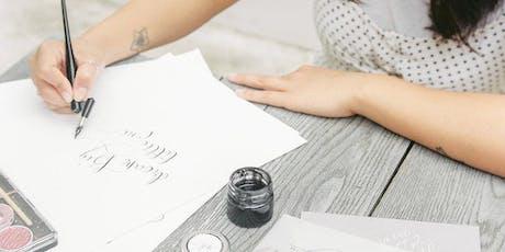 Modern Calligraphy Creative Workshop tickets