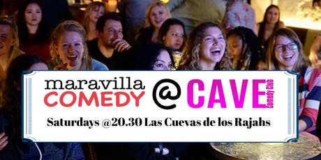 Maravilla Comedy Nights at Cave tickets