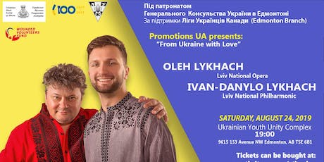 Tenor – Oleh Lykhach  & Ivan Danylo Lykhach tickets