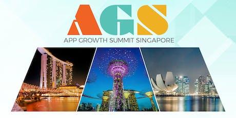 App Growth Summit Singapore 2019 tickets