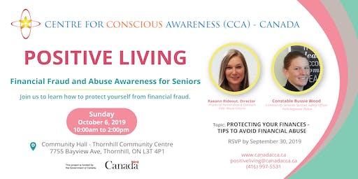 Positive Living - Financial Fraud and Abuse Awareness for Seniors