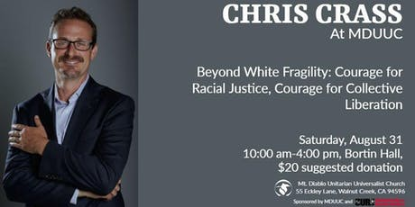 Chris Crass - Beyond White Fragility tickets