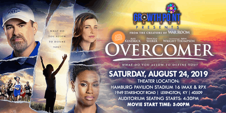 Overcomer Movie Presented by Growth Point Church tickets