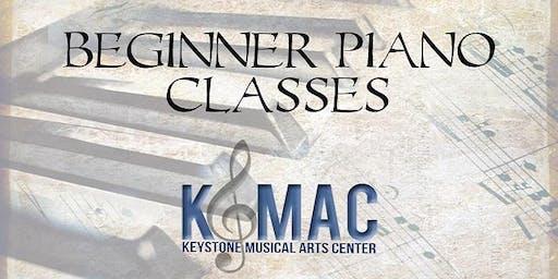 Beginner Piano Class - Youth