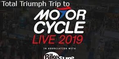 Total Triumph Trip to Motorcycle Live 2019