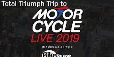Total Triumph Trip to Motorcycle Live 2019 tickets