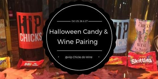 Wine and Halloween Candy Pairing