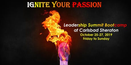 Ignite your Passion Leadership Summit Bootcamp tickets