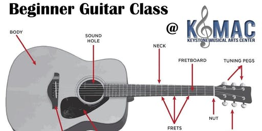Beginner Guitar Class, ages 8-12