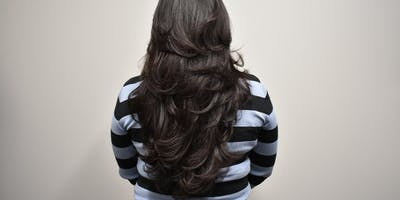 Layered Long hair Haircut