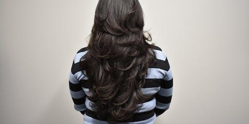 Layered Long hair Haircut