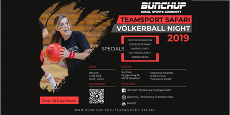 Voelkerball-Night - Oldschool Sports Nights #1  von BunchUP Tickets