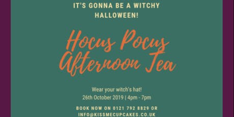 Hocus Pocus Afternoon Tea tickets