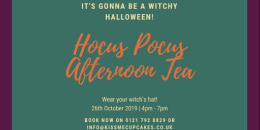 Hocus Pocus Afternoon Tea