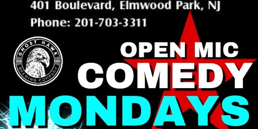 Open Mic Comedy: Elmwood Park: BLVD: by Ghosthawk