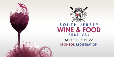 2019 South Jersey Wine & Food Festival Sponsor Registration tickets