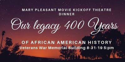 Mary Pleasant Movie Kickoff  With Sushell Bibbs Produced By 400 Years 2019