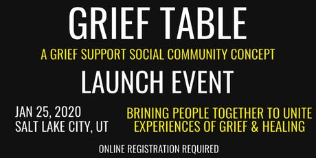 Grief Table Community Launch Event tickets