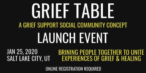 Grief Table Community Launch Event