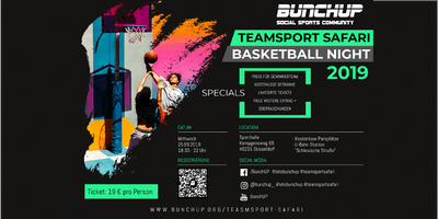 Basketball-Night - Teamsport Safari Nights #3  von BunchUP