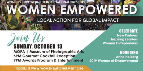 WOMEN EMPOWERED: Local Action for Global Impact tickets