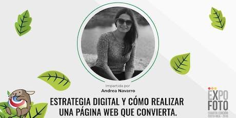Estrategia digital y cómo realizar una página web que convierta. tickets