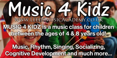 Music Classes For Preschoolers (South Leeds) | Free Trials
